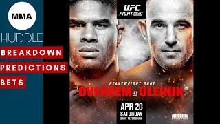 UFC Fight Night Overeem vs Oleinik breakdown and predictions