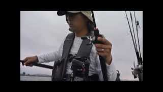 琵琶湖 フローターでバス釣り 2012.6.30 Float Tube Bass Fishing in Lake BIWA