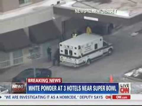 False Flag White Powder Found At 3 Hotels Near Superbowl
