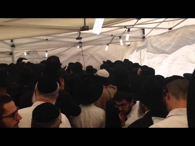 """ירושלים: המונים בהילולת מרן הגאון רבי בן ציון אבא שאול זצ""""ל"""