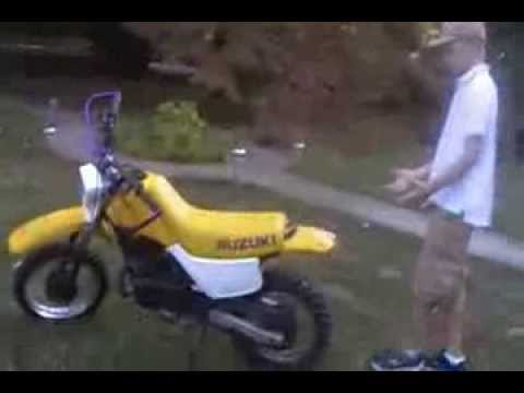 Copy of Suzuki DS80 Dirt Bike