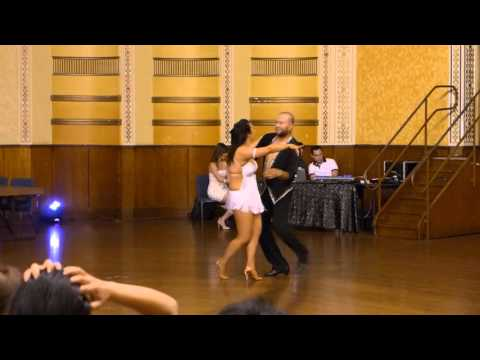 2015 Australian Bachata Championship - Pro/Am Couple - Christian and Angela
