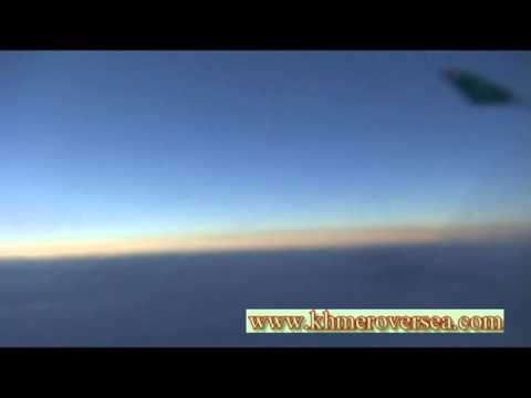 Airline Airplane On Sky Khmer Cambodia Daily News Song Music=2