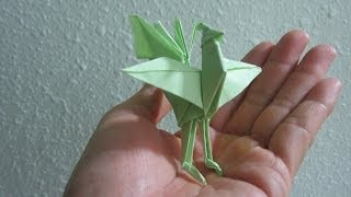 Tutorial - How To Make A Origami Chinese Phoenix (creator: Jun Maekawa)