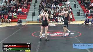 Lane Cowell (Fort Dodge) over Elijah Hofbauer (Waukee) (Fall 2:20)