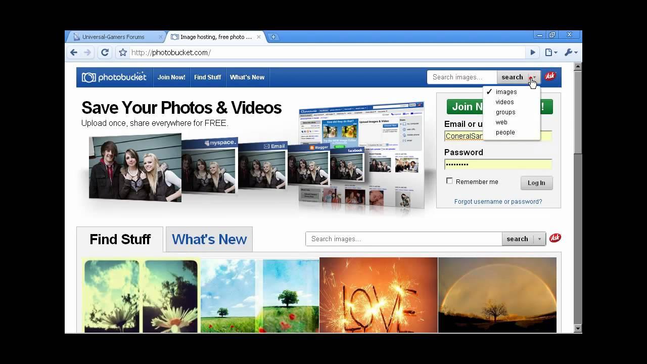 photobucket pictures not showing