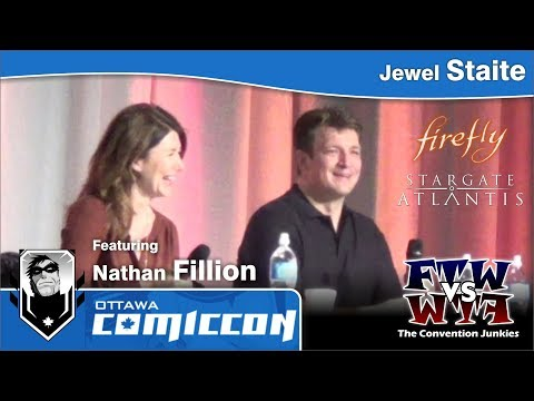 Jewel Staite featuring Nathan Fillion - Ottawa Comic-Con 2013 (ConJunkie.com)