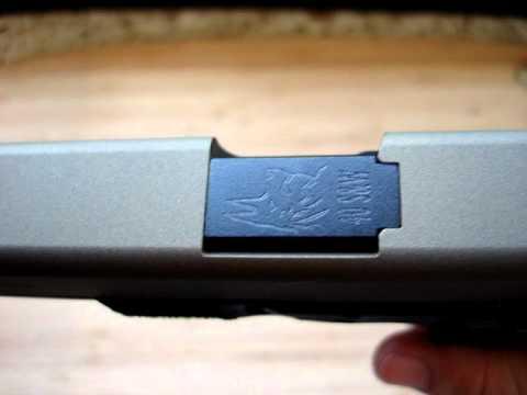 Glock 35 .40 cal Burt Bronze Cerakote Part 2