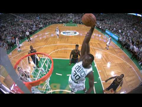 Brandon Bass Elevates for the And-1 Putback Slam