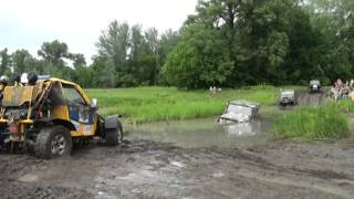 Котлета выручает уазы 4х4 4x4 offroad hard mudding deep mud full time 4wd