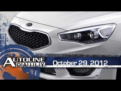 Kia Reveals All-New Cadenza - Autoline Daily 1002