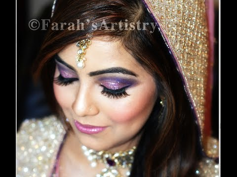 REAL INDIAN PAKISTANI ARAB BRIDAL MAKEOVER - Behind The Scenes