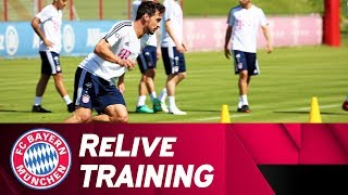 FC Bayern Training - Preparation for Stuttgart | ReLive