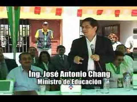 Ministerio de Educación - Proyecto