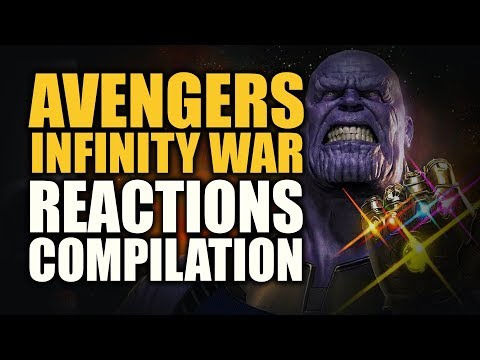 Avengers Infinity War Reactions Compilation (Trailer 2)