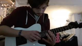 Owl City - Fireflies (Intro guitar cover)