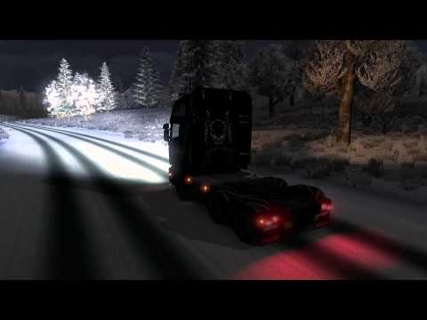 ETS2 Multiplayer - Winter Mod Review - 0.1.2 Update