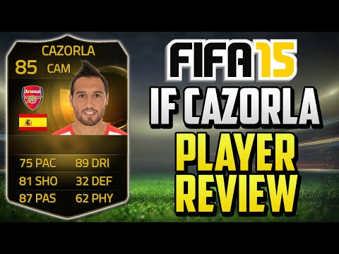 FIFA 15 IF Santi Cazorla Player Review (85) w/ In Game Stats & Gameplay - Fifa 15 Player Review