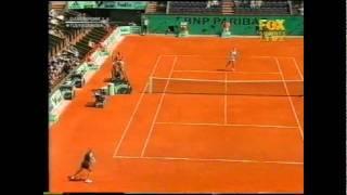 Iroda Tulyaganova v Lindsay Davenport French Open HIghlights