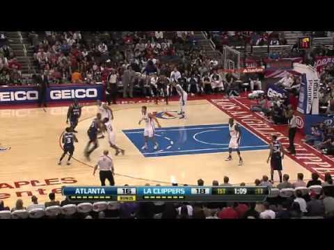 Atlanta Hawks vs. Los Angeles Clippers First Half Highlights 11 November 2012