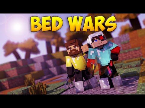 Minecraft BedWars #55 - Нас почти снесли!