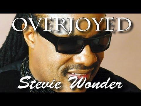Overjoyed - Stevie wonder - Lyrics