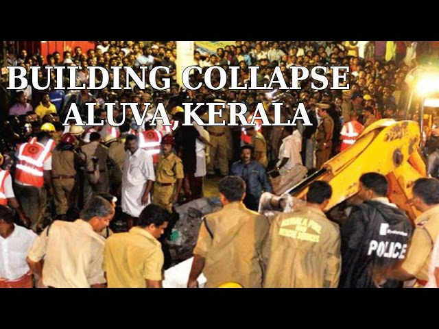 3-Storey Building Collapse - 3 Dead From Same Family In Aluva : Thanthi TV