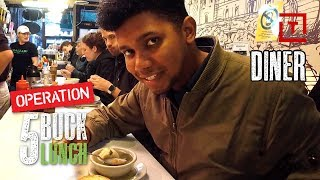 The Best Cheap Diner Lunch in NYC || 5 Buck Lunch
