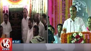 Minister Harish Rao Inaugurate Kanukurthy Market Godown | Mahbubnagar