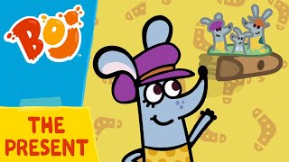 Boj - A Present For Mimi and Pops | Cartoons for Kids