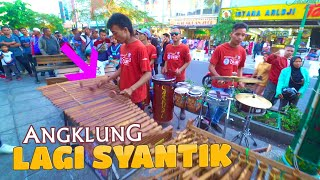 Download Lagu LAGI SYANTIK - Angklung Malioboro, Gambang Bambu-nya Bikin Musik Tambah Gurih (CAREHAL Jogja) Gratis STAFABAND