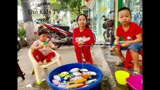 Trò Chơi Câu Cá Cuối Tuần   Thỏ Kids Tv ❤️❤️