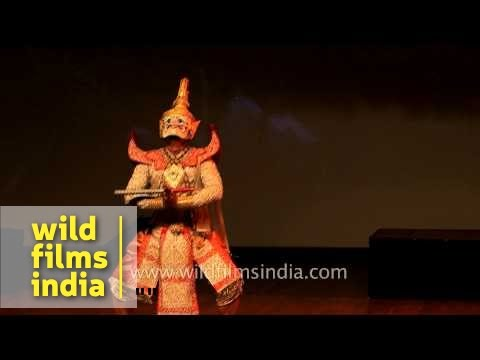 Fine Arts Department, Thailand enact Ramayan story in India