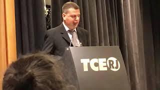 Discurso do professor Bruno Sobral ao receber o Prêmio Ministro Gama Filho do TCE RJ