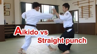 Aikido vs Straight punch(Possibility of Aikido)