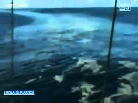 UN'ISOLA DI PLASTICA NELL'OCEANO PACIFICO!! DA VEDERE