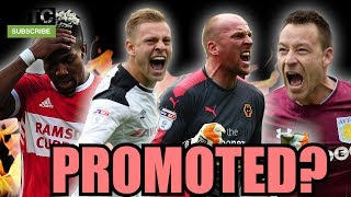 WHO'S GETTING PROMOTED THIS SEASON?