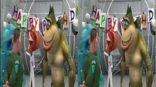 LG 3D Demo 1080p  Monster vs Aliens  JOHN FM