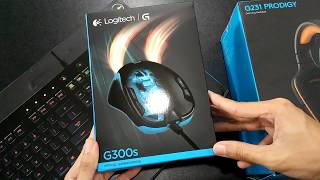 UNBOXING Ambidextrous Logitech G300s Optical Gaming Mouse [Lazada]