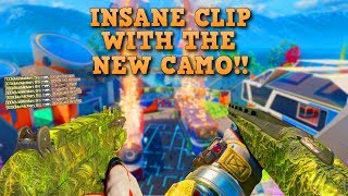 INSANE CLIP WITH THE NEW CAMO Call Of Duty Black Ops 3