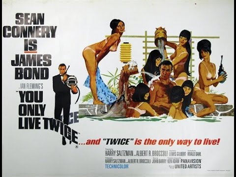 You Only Live Twice is listed (or ranked) 8 on the list The Best James Bond Movie Theme Songs