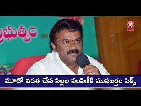 Minister Talasani Holds Review Meet On Fish Seed Distribution Scheme | V6 News