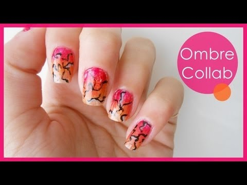 Ombre Collab with HelloMaphie ● Nail Art