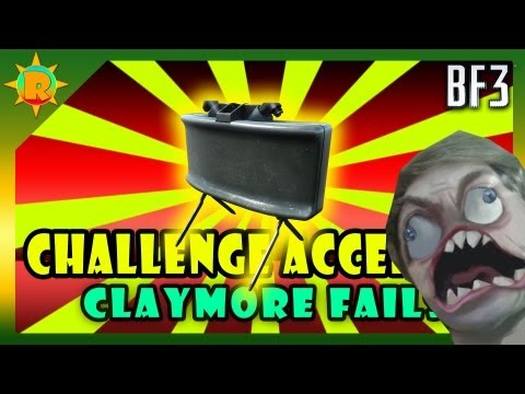 Watch ☼ Battlefield 3 Challenge Accepted #7 Claymore Only (FAIL)