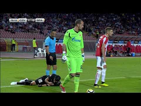 Golman Zvezde Milan Borjan Se Sukobio Sa Fudbalerom Spartaksa | SPORT KLUB Fudbal