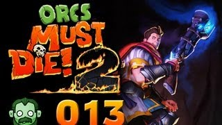 Let's Play Together: ORCS MUST DIE 2 #013 - TreppenTrouble [deutsch] [720p]