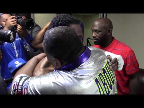 ADRIEN BRONER Prayer Before His Fight - EsNews Boxing
