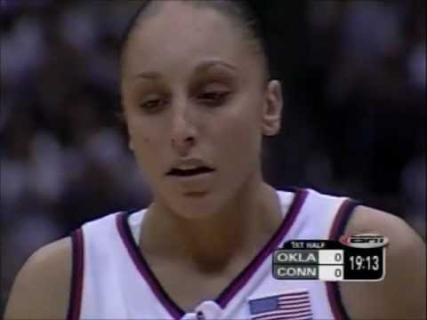 Taurasi in her first NCAA finale
