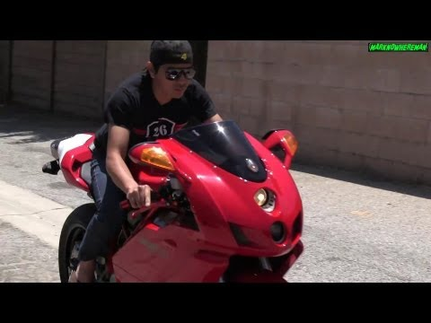The sound of the RED BEAST! DUCATI Superbike 999