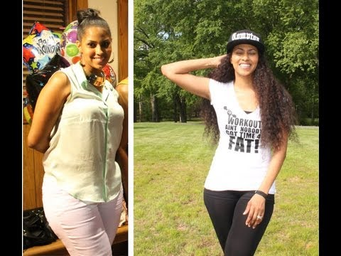 WEIGHT LOSS JOURNEY UPDATE! + MY AT HOME WORKOUTS!!! | CHINACANDYCOUTURE